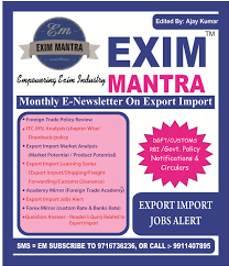 foreign trade academy certificate course on freight forwarding exim mantra click to subscribe import export e newsletter