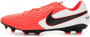 <b>Бутсы</b> мужские <b>Nike Legend 8</b> Pro FG красный/белый/черный ...