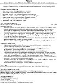 sample event planner resumes download event coordinator resume sample