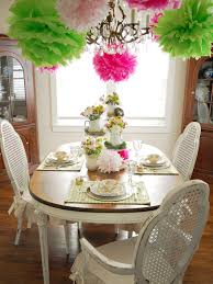Spring Decorating Colorful Spring Table Setting Hgtv
