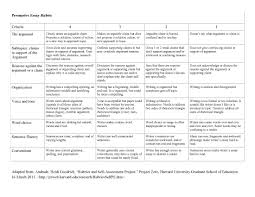 rubric for essay writing  rubric for essay writing