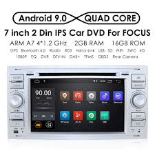 Car Multimedia Player GPS <b>Android 9.0 2 Din</b> Stereo System Radio ...