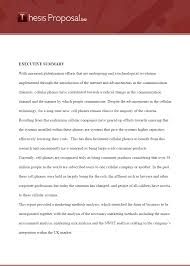 How to Write a Thesis Proposal  Free Example   PHD Research Proposal