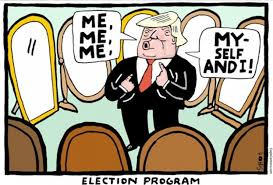 Image result for trump ego cartoons