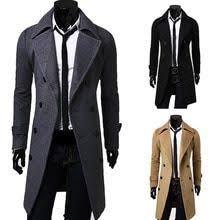 <b>ZOGAA 2019</b> New Geek Mens <b>Wool</b> Coat Jacket Double-breasted ...