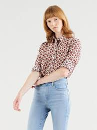Buy <b>Levi's</b>® Women's <b>Classic Shirt</b> | <b>Levi's</b>® Official Online Store ID