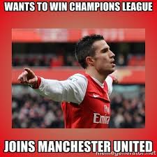 Wants to win champions league joins manchester united - Robin Van ... via Relatably.com