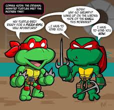 Turtles forever first impressions | Teenage Mutant Ninja Turtles ... via Relatably.com