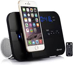 dpnao 5 in 1 iPhone Charger Dock Station with Alarm ... - Amazon.com