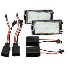 <b>1pcs Car</b> Light Bulbs 2 W 18 LED <b>License</b> Plate Lights For Seat ...