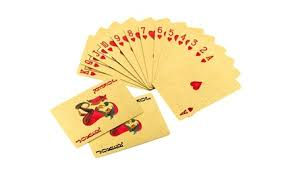 Up To 88% Off on <b>24K Gold Plated</b> Playing Cards   Groupon Goods