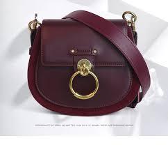 Brand Leather Fashion Lady Leather <b>Bag Women</b> Saddle <b>Bag Small</b> ...