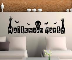 halloween gallery wall decor hallowen walljpg full size of decoration spooky halloween party decor removable halloween wall decal vinyl art for