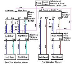wiring diagram for passenger door window switch fixya here is a diagram of the power window circuit let me know if you require any further assistance