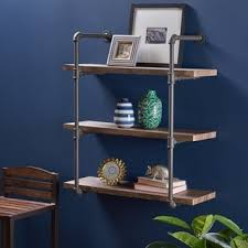 Top Product Reviews for Staci Industrial <b>Three Tier</b> Faux Wood <b>Wall</b> ...
