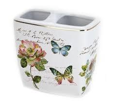 <b>Стакан</b> для зубных щеток <b>Avanti Butterfly</b> Garden купить в Москве ...