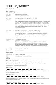respiratory therapist resume samples   visualcv resume samples    respiratory therapist resume samples