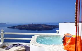 <b>Opal luxurious</b> Suite in Santorini, overlooking the caldera | Adamant ...