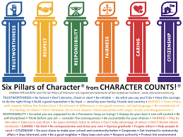six pillars of character worksheets worksheet workbook site six pillars of character worksheets