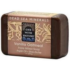 One with Nature, <b>Triple Milled Mineral</b> Soap, Vanilla Oatmeal, 7 oz ...