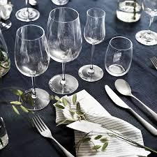 Виды бокалов для различных напитков - IKEA