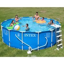 Купить Каркасный <b>бассейн Intex Metal</b> Frame, 457х122см ...