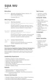 teaching assistant resume samples   visualcv resume samples databaseteaching assistant resume samples