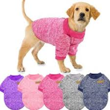 Clothing Winter Puppy Cat Warm Clothes Dog Sweater Wool ... - Vova