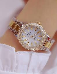 Women's <b>Wrist Watch</b> Japanese Quartz Stainless Steel Gold 30 m ...