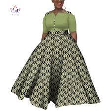 2019 <b>Dashiki African Dresses For</b> Women Colorful Daily Wedding ...