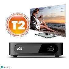 U2C <b>DVB</b>-<b>T2 Smart TV</b> Box <b>DVB</b>-<b>T2</b> T2 STB H.264 TV Digital ...