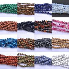<b>100Pcs lot Natural</b> Gemstone Round Spacer Loose Beads 8MM ...