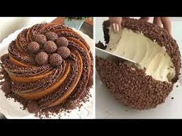 Most Satisfying Chocolate Cakes Video Ever   <b>Sweet Cake</b> - YouTube