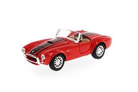 <b>1965</b> Shelby Cobra 427 Convertible, Red - <b>Maisto</b> 34276 - <b>1/24</b> ...