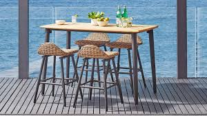Buy Dario <b>5</b>-<b>Piece Outdoor Bar</b> Setting | Harvey Norman AU