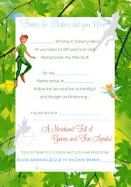 peter pan andtinkerbell invite template copy birthday peter pan andtinkerbell invite template copy