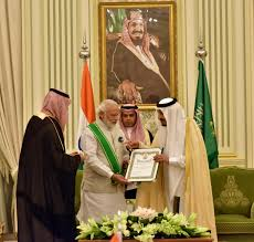 top saudi honour to pm another global recognition of sabka saath invc news new delhi bharatiya janata party prime minister narendra modi saudi arabia s