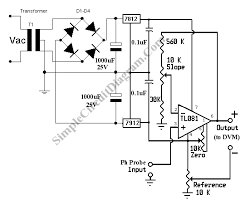 simple ph meter circuit  a low cost adapter for your digital    ph meter circuit circuit schematic diagram