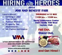 employment archives ⋆ utah dept of veterans and military affairs hiring our heroes job fair flyer working a