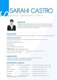 curriculum vitae curriculum vitae examples in spanish cv sara spanish jpg