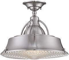 ceiling light cody semi flush kitchen lights mount lighting one brushed nickel clear seeded glass school art deco kitchen lighting