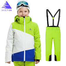 <b>Boys Ski Jacket Children</b> Waterproof Windproof Clothing Skiing ...