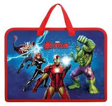 Купить <b>Hatber</b> Папка-<b>сумка для тетрадей</b> Marvel-Мстители А4 ...