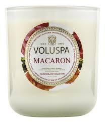 <b>Ароматическая свеча Macaron</b> (миндальное печенье) VOLUSPA ...