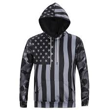 North America Fashion <b>Men Women 3d</b> Sweatshirts Print USA Flag ...