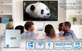 Mini PC,T11 Windows 10 Pro(64-bit) Intel x5-Z8350 ... - Amazon.com