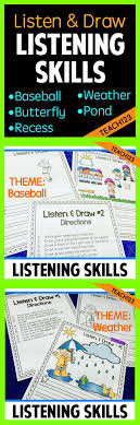 best images about a listening skills esl sub listening activities listening comprehension spring