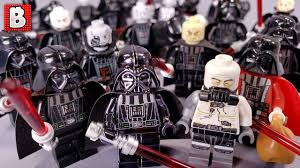 Every <b>LEGO Darth</b> Vader Minifigure EVER MADE! 2019 Update ...