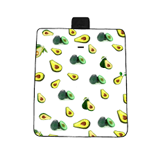 <b>Avocado Pattern Small Fresh</b> 3D Digital printing full polyester Oxford ...