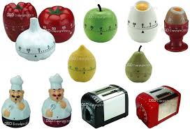 novelty kitchen timer apple amazon co uk kitchen home